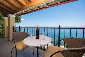 seaview apartment in corfu
