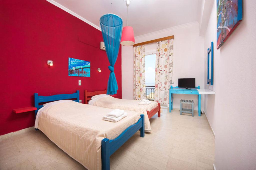 family rooms in corfu