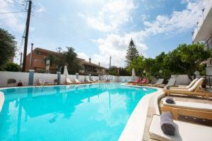 hotels with pool corfu
