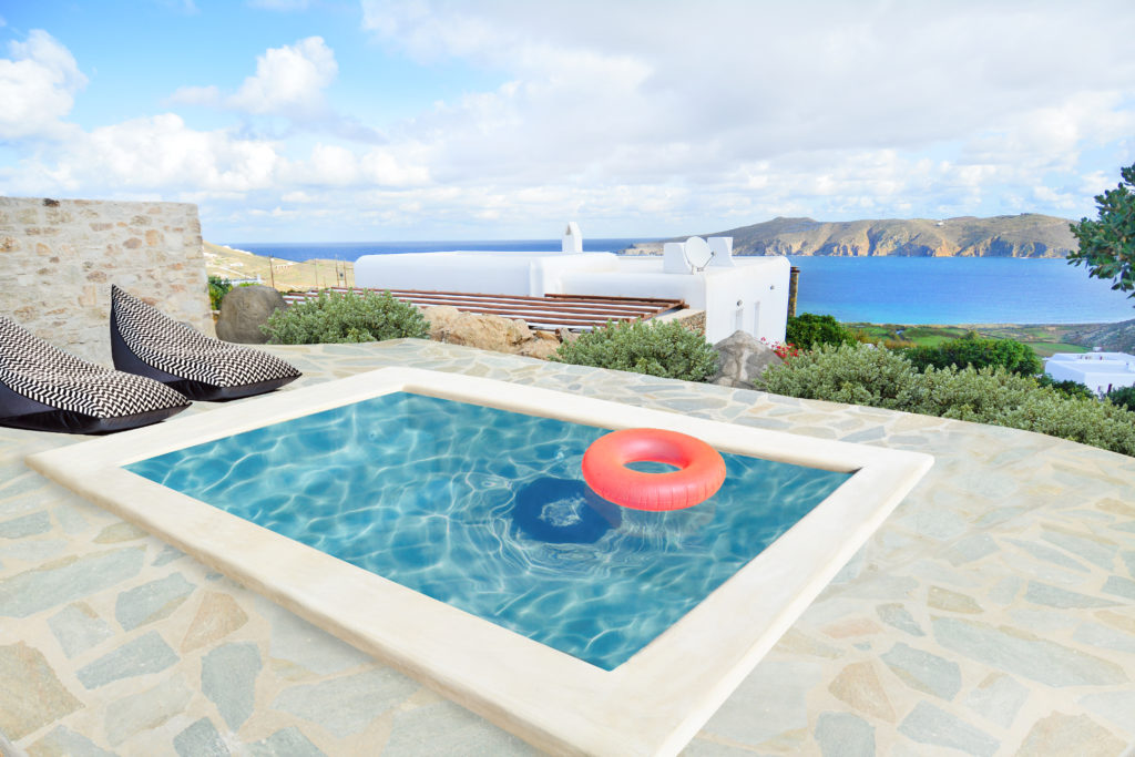mykonos pool villas