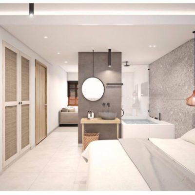 two bedroom suite with Jacuzzi in Rethymno